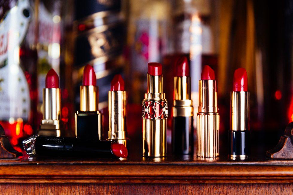 Rote Lippenstifte