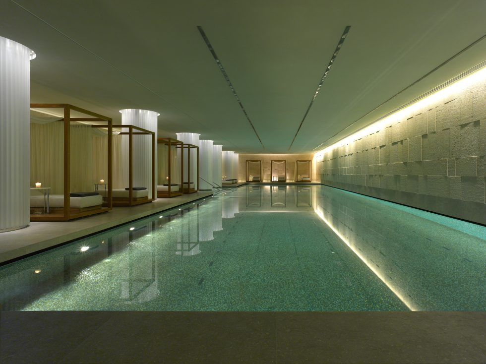 Bulgari Hotel London Spa Pool