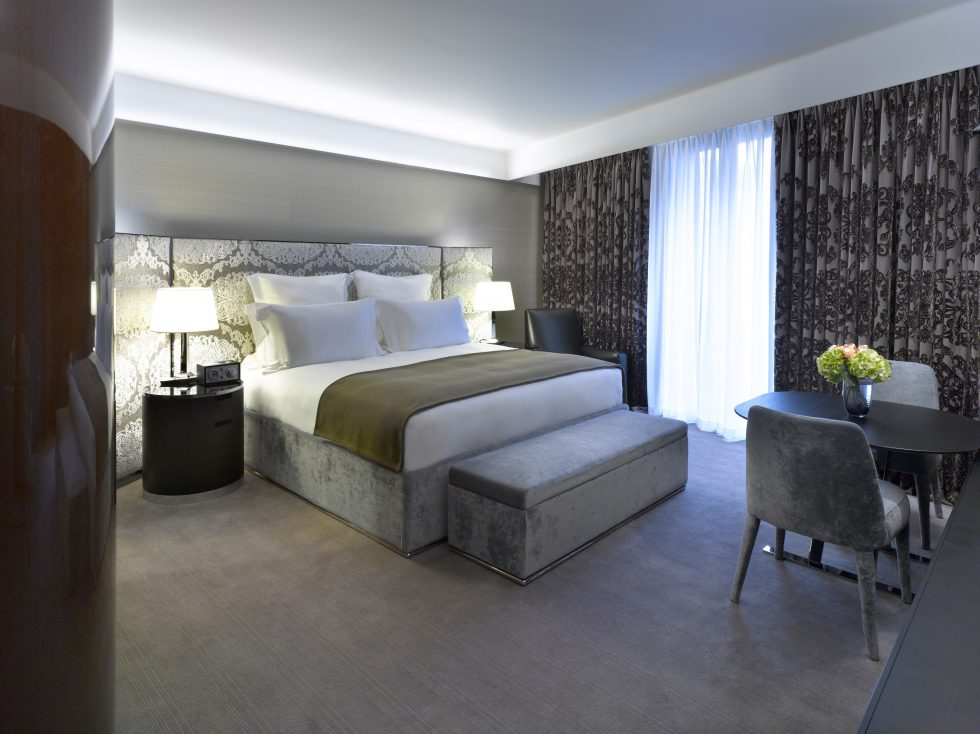 Bulgari Hotel London Bedroom