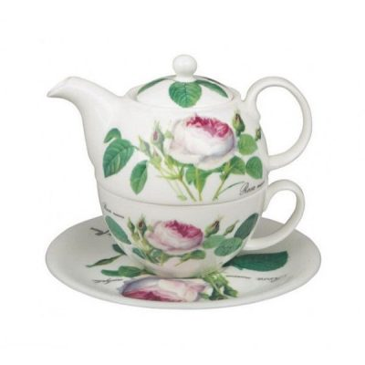 Roy Kirkham Redoute Rose Tea for one